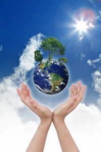 """Eco Concept - Earth In Hands "" by jannoon028 
