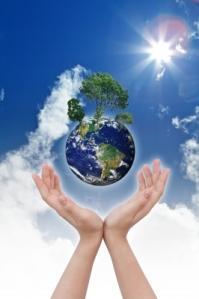 """Eco Concept - Earth In Hands "" by jannoon028 | via FreeDigitalPhotos.net"